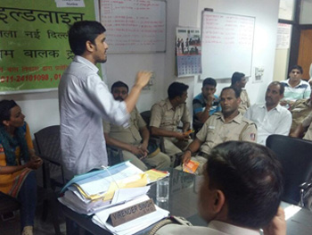 Sensitisation Workshop at Vasant Kunj