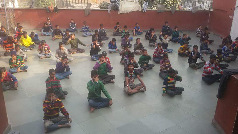 Meditation and Dance activities