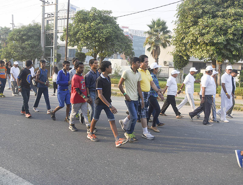 Walkathon on World Arthritis Day