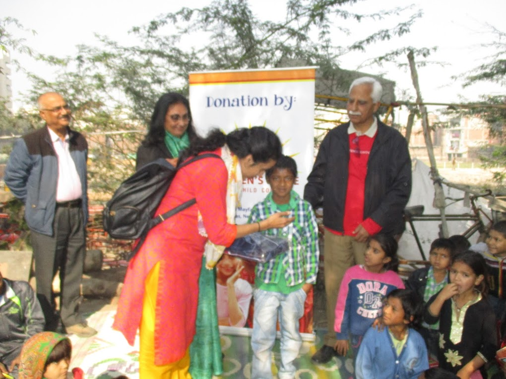Warm clothes distribution by  Children Hope India