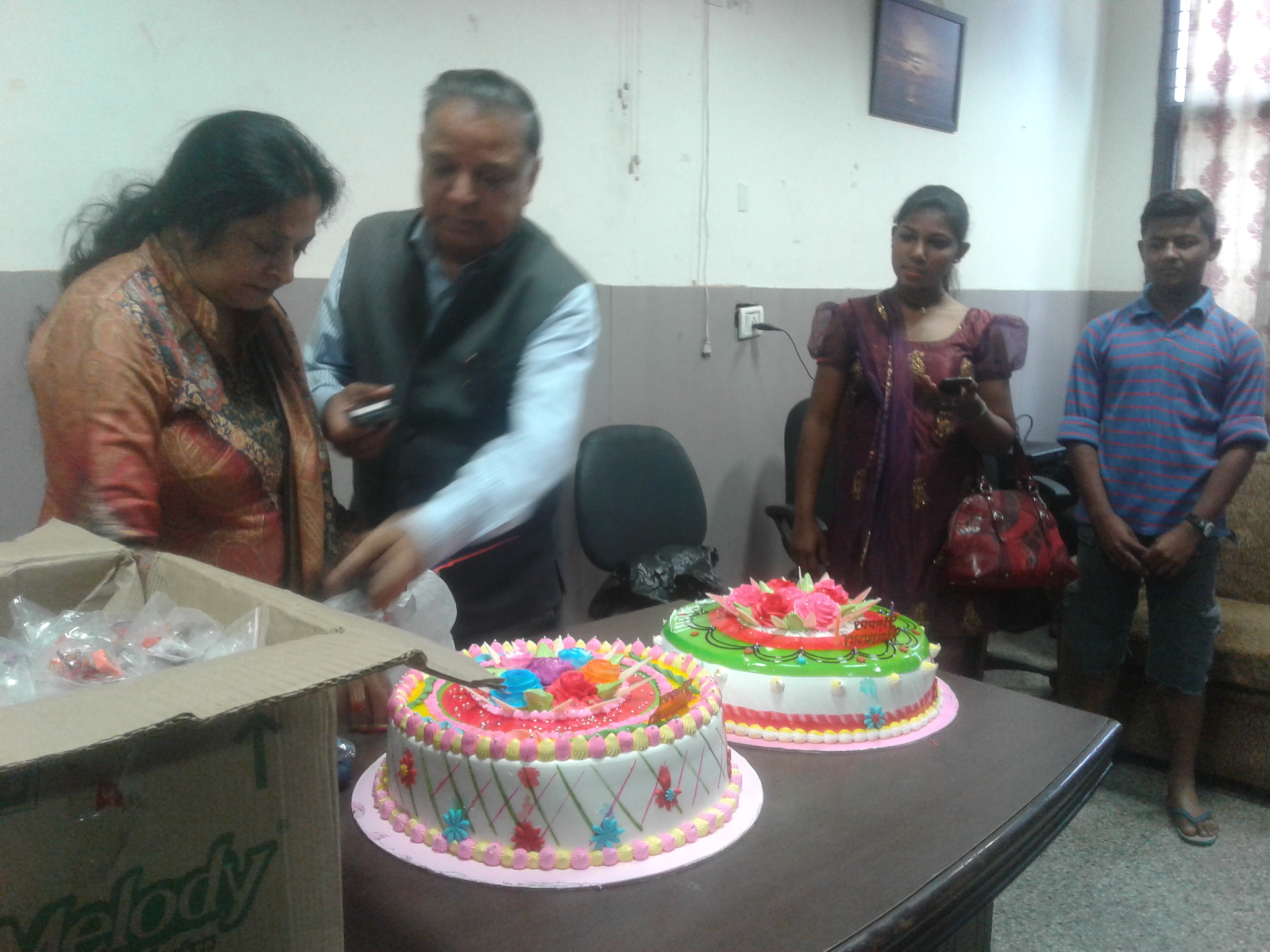 Anniversary Celebration and Special Lunch at DMRC Shelter