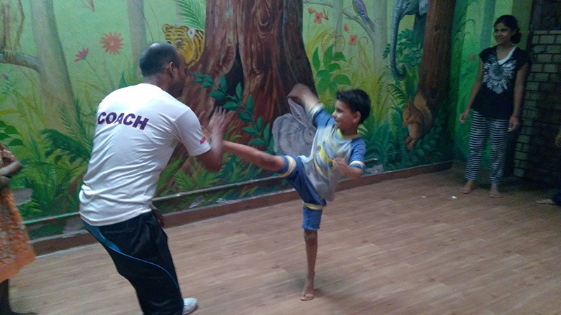 SBT Children Attend Self Defense Classes