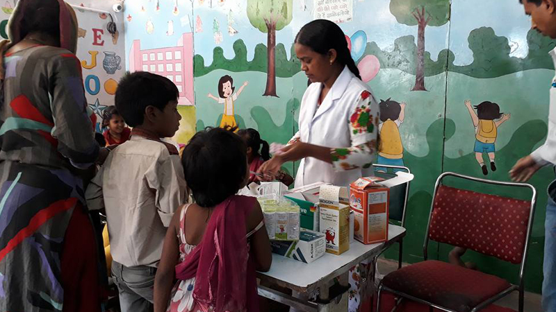 Health camps orgainsed by SBT